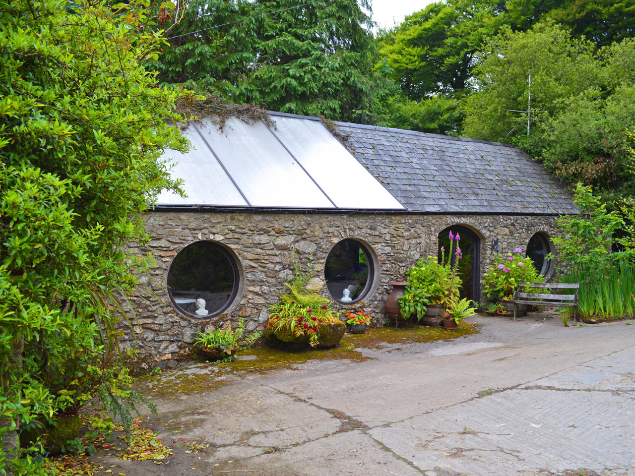 Irish Country Farmhouse Accommodation, Co Kilkenny, Ireland | Cullintra House offers guests facilities in the converted barn | a space to read and relax
