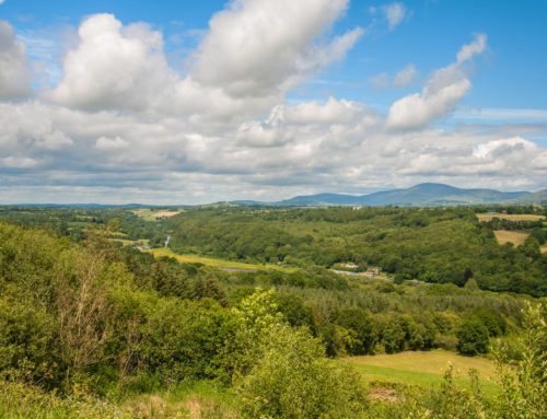 Visit the wonderful wild countryside with views of 5 counties.