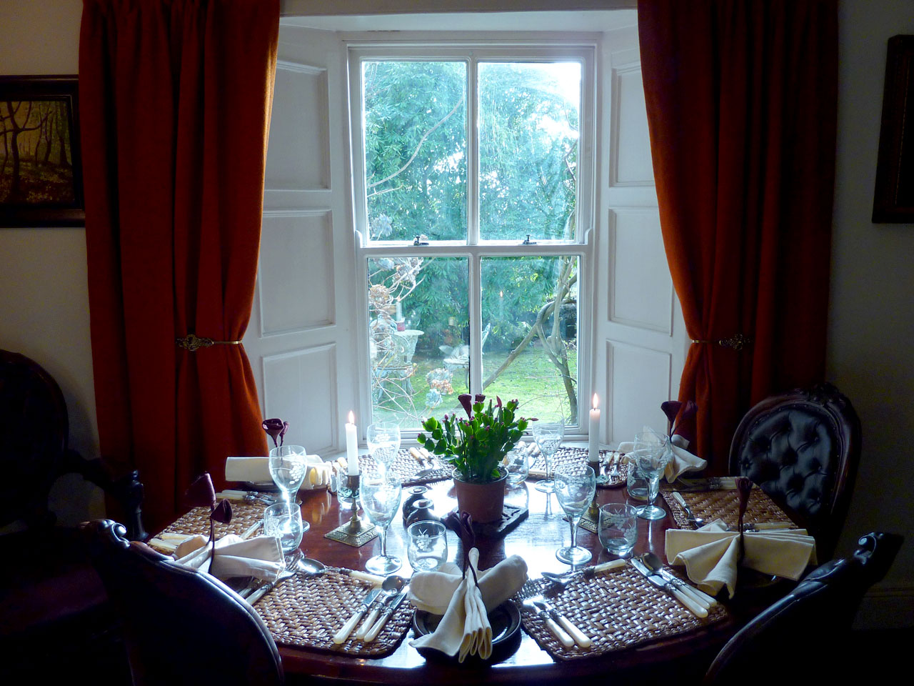 Accommodation with Dinner   Home Cooked Local Produce   Kilenny